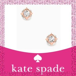 Kate Spade ♠️ Rose Gold Lady Marmalade Earrings